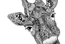 Art - Zentangles / by Judy Grandstrand
