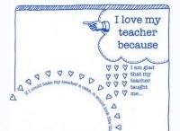 School Stuff - Teacher Thanks / by Melanie Cleere Ballard