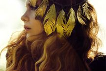 HEAD DRESSES / mostly inspired by native american and mother nature / by Ancient Amber <<
