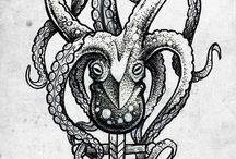 Tatuajes de pulpo
