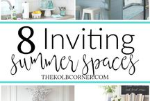 Outdoor DIY Decor & Projects / Great DIY outdoor decor and projects for the garden, patio, deck or yard.