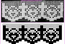 Church altar cloth lace