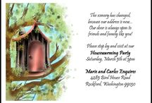 Invitations for house warming