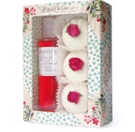 Past Creations: Rose & Patchouli / Richly decorated packaging for this evocative fragrance.