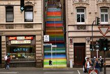 Wuppertal - Szivárvány lépcsők