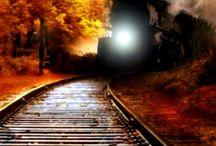 Trens e locomotivas/ Trains