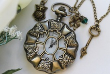 Pocket watch Necklaces / by Theresa