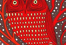owls / by Carla Ganell