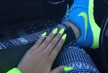 nikes and nails