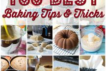 Baking Tips / ....when you need help with baking