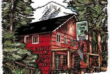 Copper Creek Inn Restaurant / Copper Creek Restaurant, opened for the first time in 1946, and is famous for it's old fashioned cooking and hospitality. Located just two miles from the Nisqually entrance to Mt Rainier National Park.