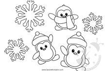 decorazioni inverno asilo