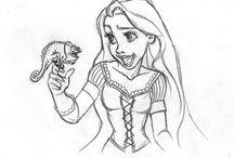 Rapunzel: Disegni da Colorare