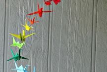 Crafting / Crafting ideas, paper cranes, yarn, decorations, anything art.