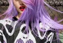 Inspiration: Violet hair ♥