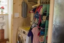 .Tiny house Laundry.