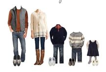 Autumn family photo shoot - what to wear