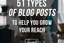 BLOGGING / Everything about blogging