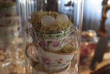 Cloches (under glass) / I so adore a cloche, a bell shaped cover!