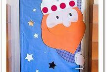 Classroom doors / Decoración de puertas / Algunas ideas para decorar las puertas de nuestras clases