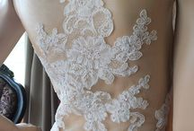 wedding dress & pretty things / For my dress, jewelry, shoes, hair and bridesmaids ideas