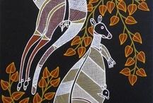 Australia and Pacific Islands / art aborigène et plus............