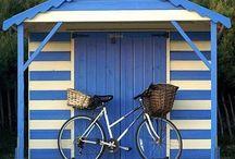 Beach hut imaginings