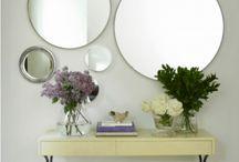Meus espelhos / Espelhos e objetos de decoração