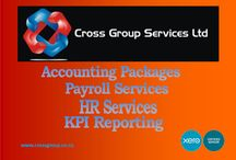 Cross Group / Here at Cross Group we are not your usual run of the mill accounting practice. From HR to Xero and we take care of all your business needs.