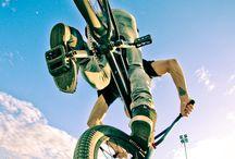 BMX MTB bike cross road