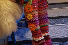 Strikkede sokker og strømper