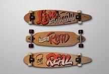 deski snowboard