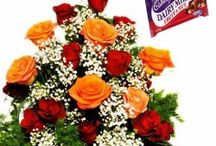 Buy Flowers and Dairy Milk Chocolate Online and Send it to India /  Wishes are very important on all occasions and being away from loved ones is no reason why one cannot be a part of their celebrations. If you think you cannot personally visit your family and friends, then be a part of their celebration by sending gifts from FlowersCakesOnline.com.