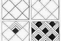 Zentangle Basic Patterns