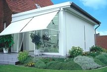 Window Shading / We offer outside or inside installed products for the windows or glazed roofing controlled either manually or electrically with many automatic control methods.