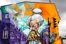 """Street Art / """"Umenie ulice"""" / Jedinečné street art inšpirácie..."""
