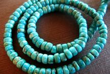 Turquoise Treasure / I love turquoise....preferably REAL turquoise, but it gets pricey sometimes for quality stones.  So don't hate me if I post some that are surely dyed Howlite; it's the color I'm about! / by Busy Crow Studio