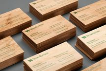 Wood in Brand Identity Design / Wooden menus, business cards and collateral as part of an identity design project. / by Richard Baird