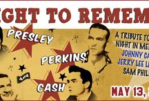 A NIGHT TO REMEMBER / A NIGHT TO REMEMBER at The Newton Theatre 5/13/2016. Step back in time to December 1956 and a legendary jam session at Sun Studios in Memphis when four legends - Elvis Presley, Carl Perkins, Jerry Lee Lewis and Johnny Cash - collided in an unparalleled historic music event!