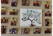 Family Display / Different ways to display family photos in classroom