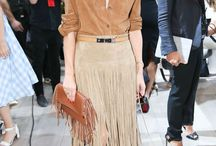 Fringe Fashion Trend / Fringe Is Back: The past few seasons have proved it: Fringe is definitely here to stay, and the trend has held on in every way, shape, and form.