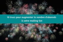 Astuces email marketing + newsletter / email marketing, astuces email, newsletter, mailchimp, emailing, webmarketing, opt-in, cadeau gratuit