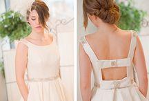 wedding dress by A. Ochandorena