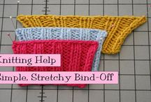 Knitting Tip & Tricks used by stitchES / Helpful tips for knitting stitches and techniques