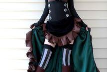 Costume★SteamPunk★burlesque★DressUps