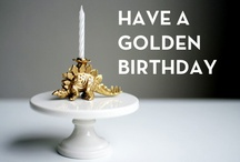 my golden birthday / This year is my 'Golden Birthday'...turning 30 on the 30th requires a big party!