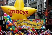 Macy's Thanksgiving Day Parade ;)