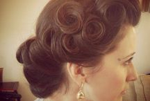 Mother's hair