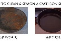 CAST IRON SKILLETS know how