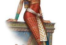 mythologal and historical figures